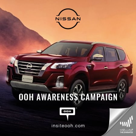 "Dubai's billboards introduce ""The all-new Nissan X-TERRA 2021"""