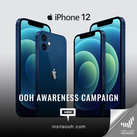 Dubai's billboards welcomes the new iPhone 12 Pro Max and iPhone 12 Mini