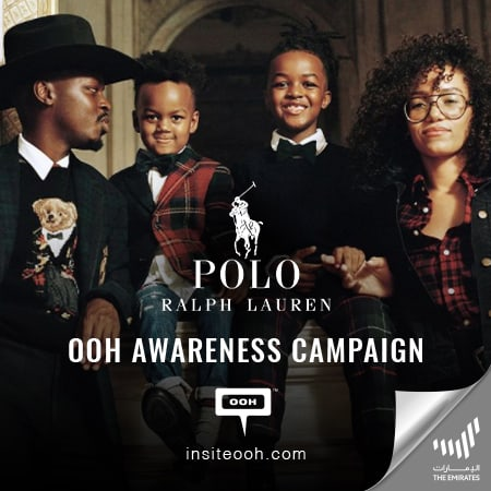 Polo Ralph Lauren proves family is who you love on Dubai's billboards