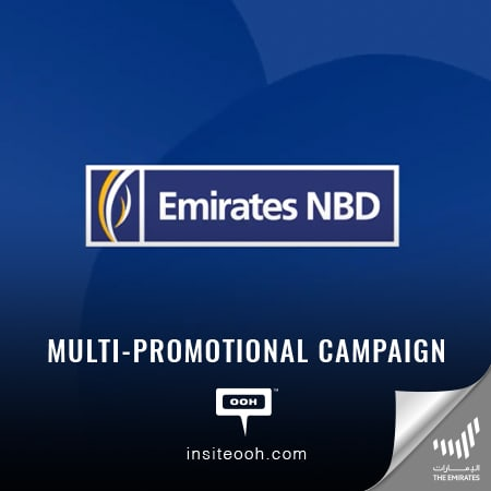 Emirates NBD spreads its offerings over Dubai's billboards