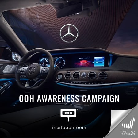 Mercedes-Benz introduces the new S-Class on Dubai's billboards