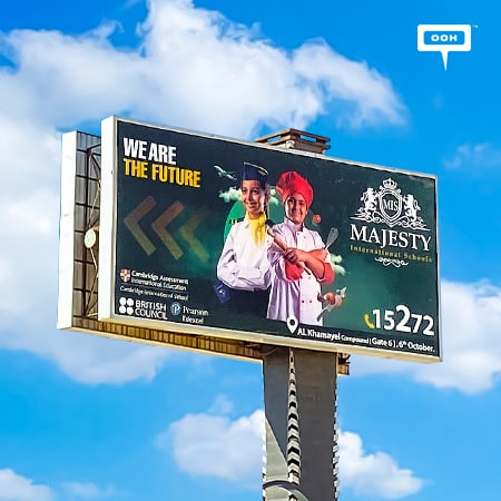 "MIS uses Gen-Z on Cairo's roads to state ""We are the future"" on an OOH campaign"
