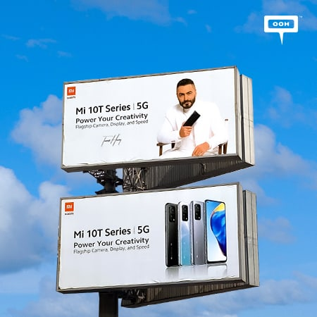 Xiaomi extends its OOH media plan in Cairo for MI 10T Series with Tamer Hosny