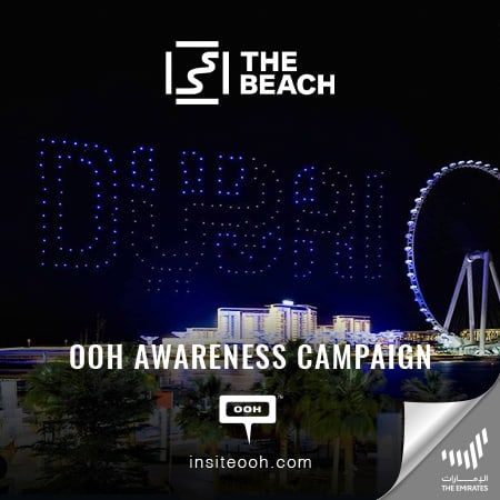 The Beach Dubai by Meraas encourages you to dine under the DSF Drone Show