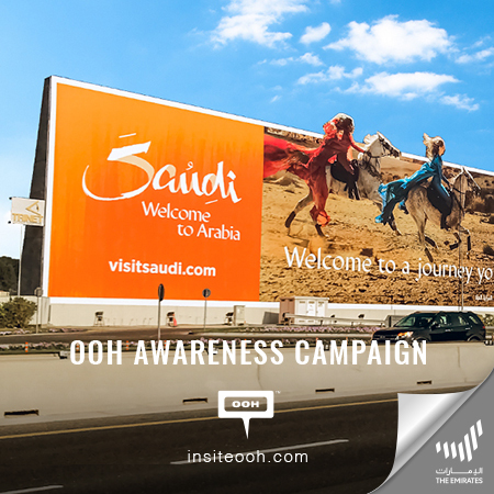 Visit Saudi arrives to Dubai's roads to enrich us with the Arabian culture