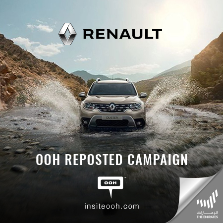 Renault returns to Dubai's billboards with the Renault Duster