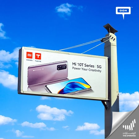 "Xiaomi UAE promotes its Mi 10T Series to ""Power your creativity"" on Dubai's roads"