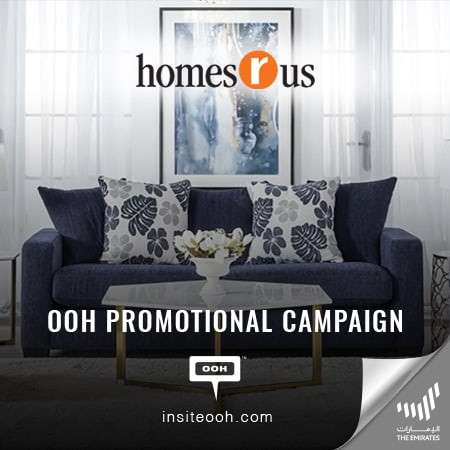 Homes r Us hits the billboards of UAE to announce its special offer