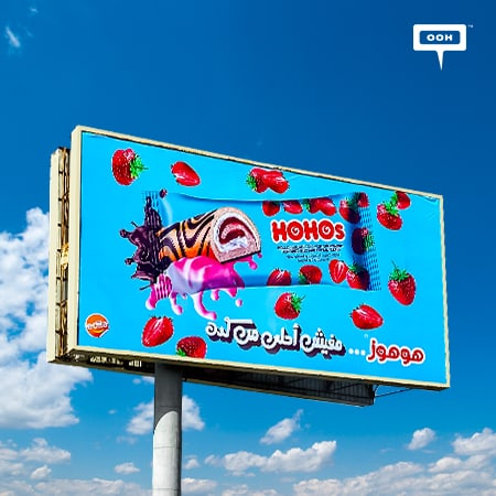 HOHOs shows up on Cairo's billboards to bring its new sweet flavors
