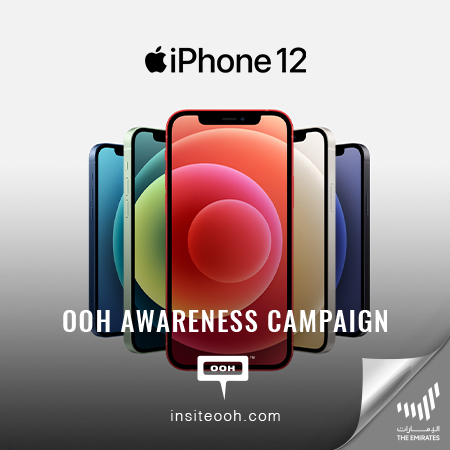 Apple promotes iPhone 12 and welcomes the 5G technology on Dubai's billboards