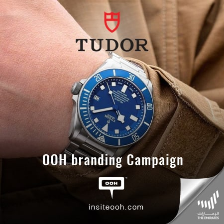 Tudor releases an OOH branding campaign on the billboards of Dubai