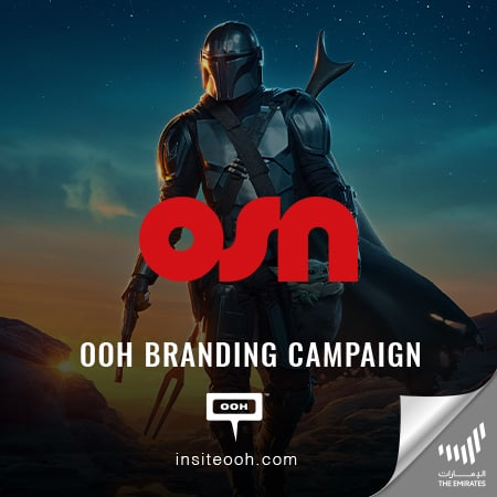 OSN shows up on the Dubai's billboards with its latest top series