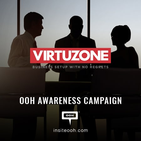 Virtuzone shows up on Dubai's billboards to ease your business setup