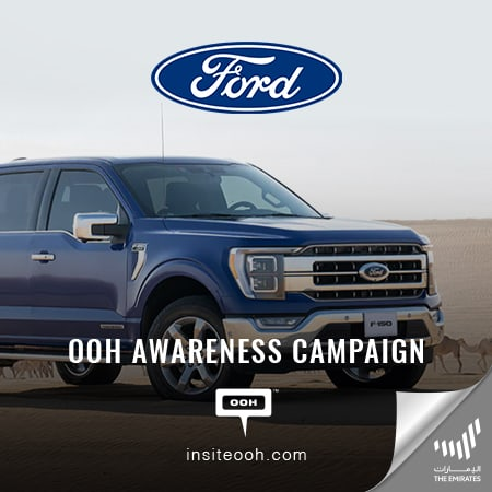 """""""Make way for the beast"""" because the 2021 Ford F-150 is on Dubai's roads"""