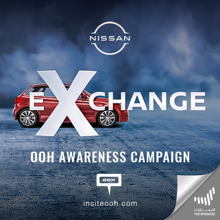 """Nissan spreads offers on UAE's billboards with the latest """"Automania Exchange"""""""