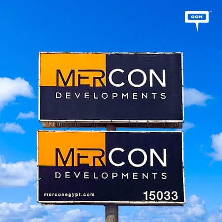 Mercon Developments lands its first OOH campaign in Cairo