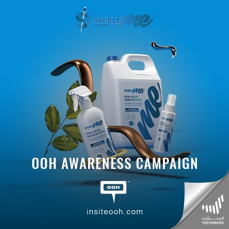 SHIELDme Sanitizer highlights its superior effectiveness on Dubai's billboards