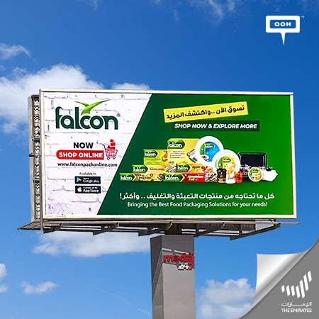 Falcon Pack continuous its environmental mission to provide high-quality products in the Middle East region