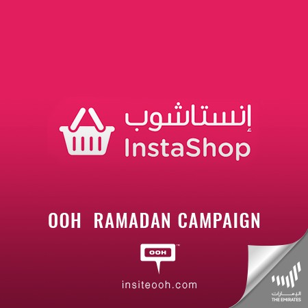InstaShop shows up in the UAE billboards with new Ramadan deals