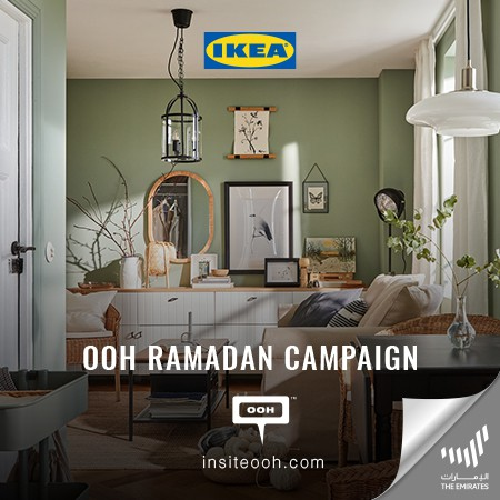 "IKEA Climbs Up UAE's Billboards To Present ""This Ramadan Let's Reset, Relax and Refresh"" Campaign"