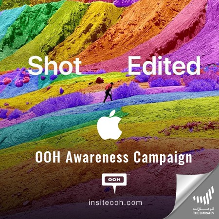 """The """"Shot and edited by iPhone"""" artistry visuals spread via Dubai's billboards"""