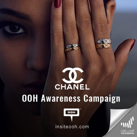 "Chanel Coco Crush Collection lights up UAE's Billboards with ""Some Encounters You Wear Forever"""