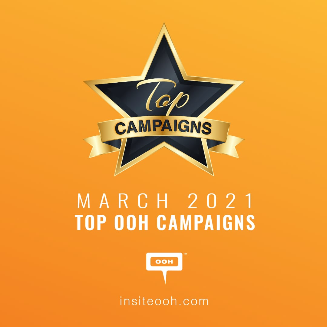 Top OOH advertisers, looking to get on top now and keep it until the end of Ramadan
