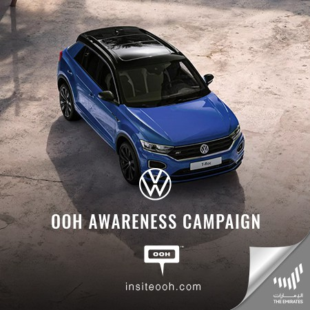 Volkswagen welcomes The all-new Roc 2021 as A New Member in SUVs via Dubai's billboards