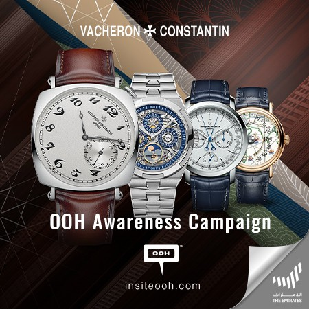 Vacheron Constantin rocks UAE'S billboards with another OOH promotional campaign