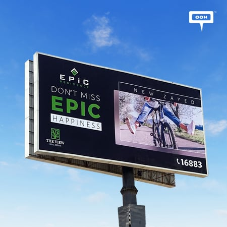 """""""Don't Miss Epic Happiness"""" now with The View Real Estate in New Zayed"""