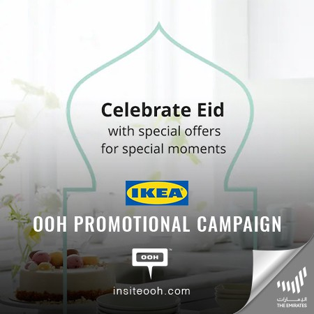 IKEA Celebrates Eid with Special Offers for Special Moments on UAE's Billboards