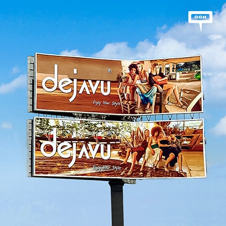 Dejavu Pops Up on Cairo's Billboards Showcasing their Trendy Spring-Summer 2021 Collection