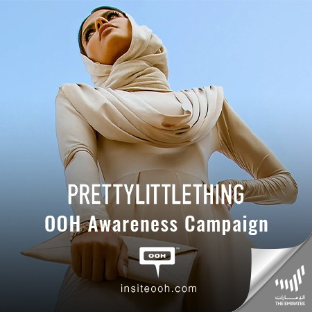 PrettyLittleThing Reinforces Its Brand Identity With an OOH Campaign
