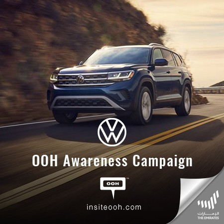 Volkswagen Launches The New 7-Seater Teramont on Dubai's Billboards