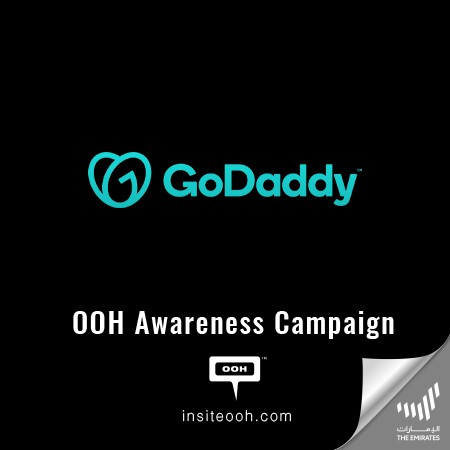 GoDaddy UAE hits billboards, promoting its Distinctive  Services in a New OOH Campaign