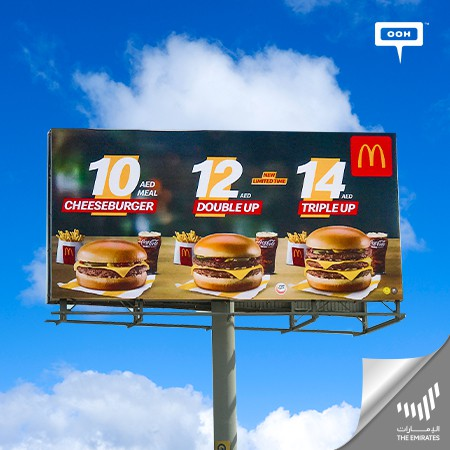 McDonald's Launches A New Campaign That Announces An Extraordinary Savings Menu in the UAE