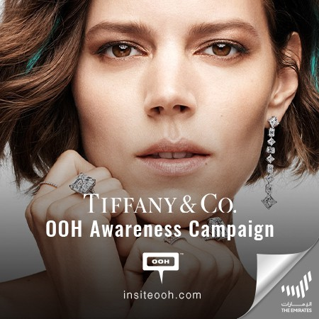 Tiffany & Co.'s T Collection Shimmers Dubai's Billboards