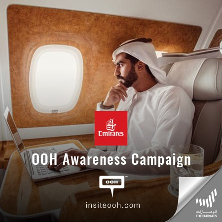 Emirates Airlines Hits Dubai's Billboards, Promising to Fly Better with a World-Class Flight Experience