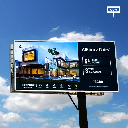 AlKarma Developments Hits Cairo's Billboards with a New OOH Branding Campaign, Promoting AlKarma Gates in Sheikh Zayed