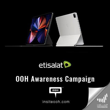 """Etisalat's """"Together Matters"""" Campaign Thrills People with 5G Connection on iPad Pro."""