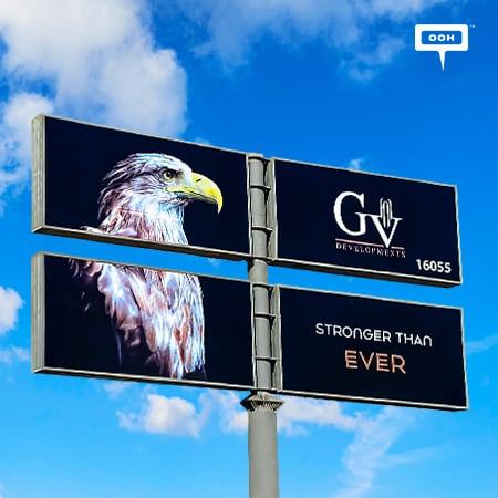 """GV Developments Reflects Its Visionary Approach """"Stronger Than Ever"""", on Egypt's Billboards"""