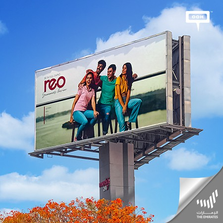 REO Debuts on UAE's Billboards, encouraging to Beat the Heat of the Season with REO's Spring Summer Collection!