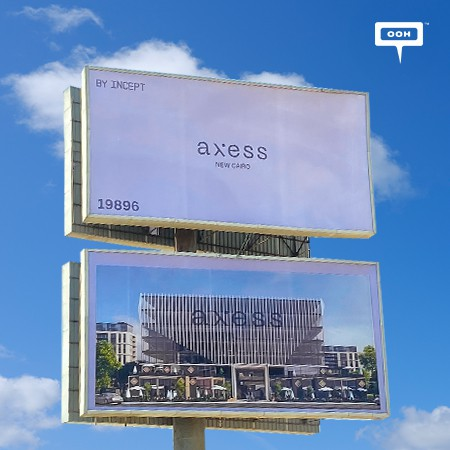 Incept Debuts on Cairo's Billboards to launch Axess Project in New Cairo