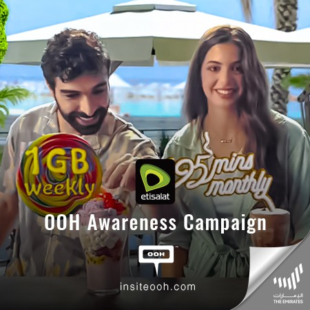 Etisalat UAE Brings A Variety of Personalized Offers to Dubai's Billboards to Stay Connected with Friends & Family