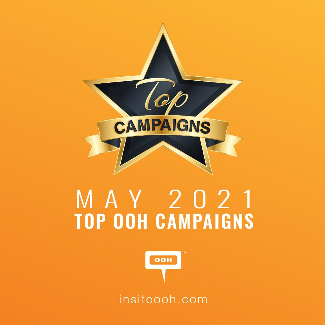 Real Estate Industry Dominates May's Top OOH Campaigns for 2021