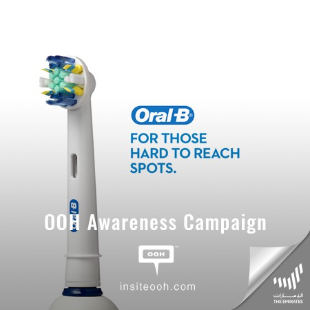 Oral-B Encourages The Emirati Audience to Go Electric for a Dentist Clean Feel