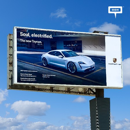 Porsche Egypt Thrills the Public with 3 Never-Before-Seen Concept Cars on Cairo's Billboards