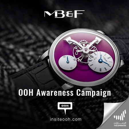 MB&F Introduces the All-New 2021 Editions of LM101 over UAE's Billboards