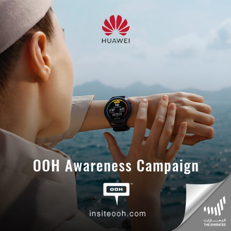HUAWEI Introduces a New Era of Smartwatches on Dubai's Billboards