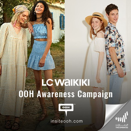 LC WAIKIKI Announces it's Opening on UAE's Billboards